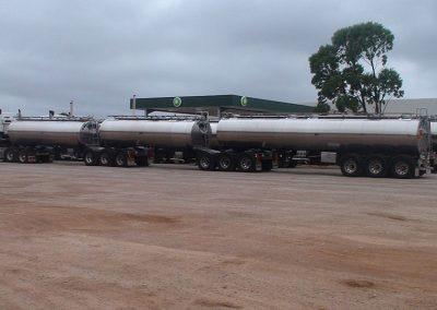 petrol road train