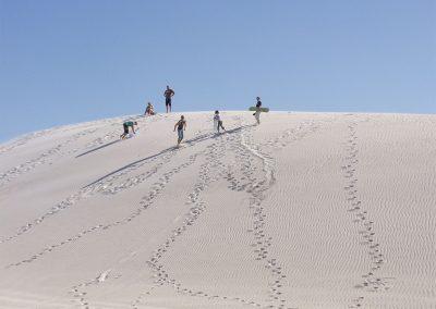 Sanddünen in Lancelin