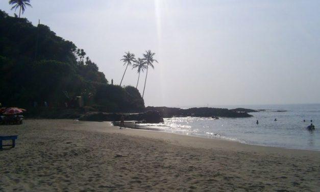 Arrival in Goa-paradise