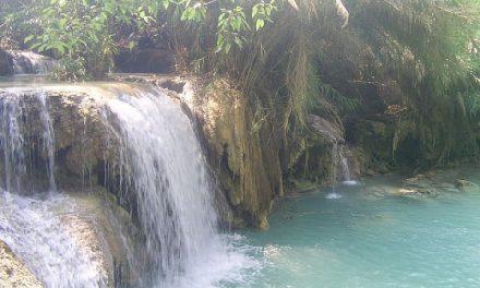 Magic waterfalls
