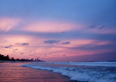 Surfers Paradisse sunset