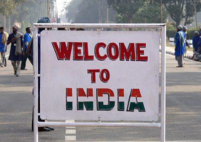 Auf dem Landweg nach Indien