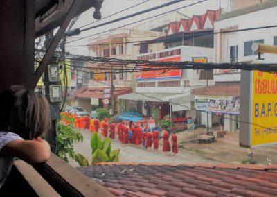 monks morning