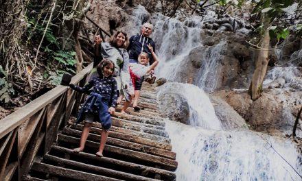 Kuang Si Falls und Bären Hilfsstation Luangprabang